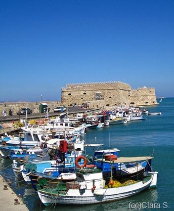 вид на венецианский форт