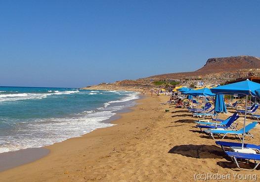 Один из пляжей Ираклиона