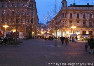 Загребе, новый год
